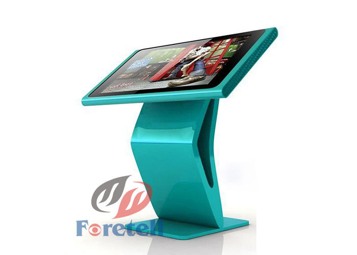 Remote Network Interactive Information Kiosk Digital Signage , Interior Digital Signage 4G Memory