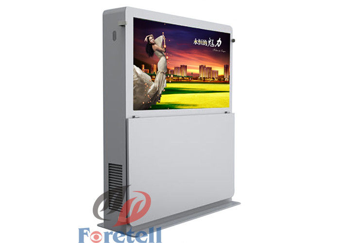 4096 * 4096 Resolution Outdoor Digital Signage Software Control Shopping Mall Kiosk
