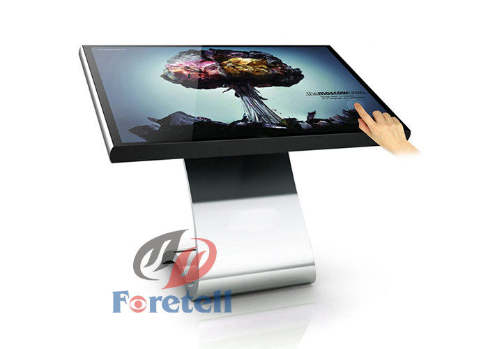 3D 4K LCD Display 22 Inch Multi Touch LCD Advertising Board With 3G Network
