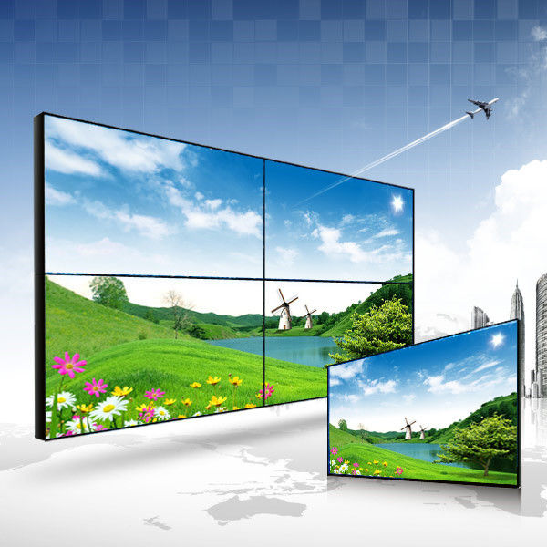 HD Super slim Bezel LCD Video Wall Display for Queueing Management System