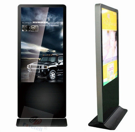 Samsung Panel Floor Standing digital signage exterior , lcd advertising player